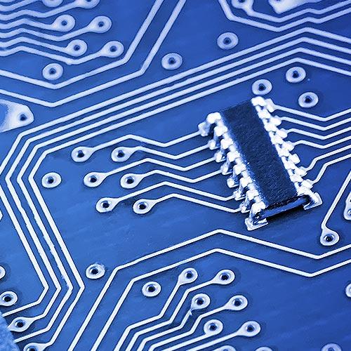 Close up of a micro-processor