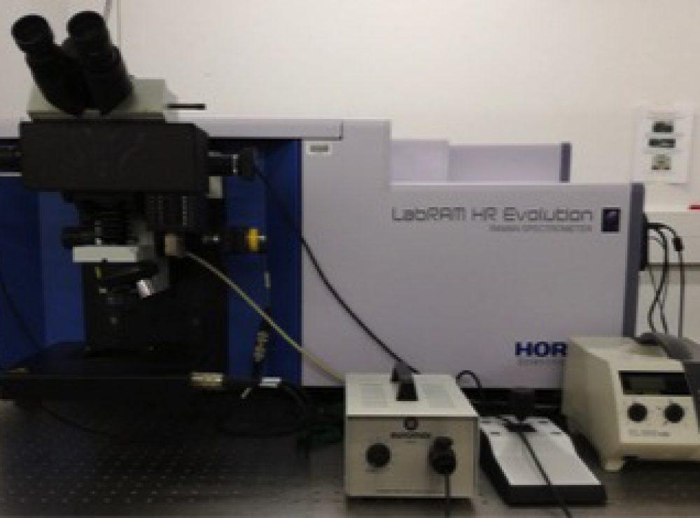 Horiba LabRAM Evolution HR Raman Spectrometer