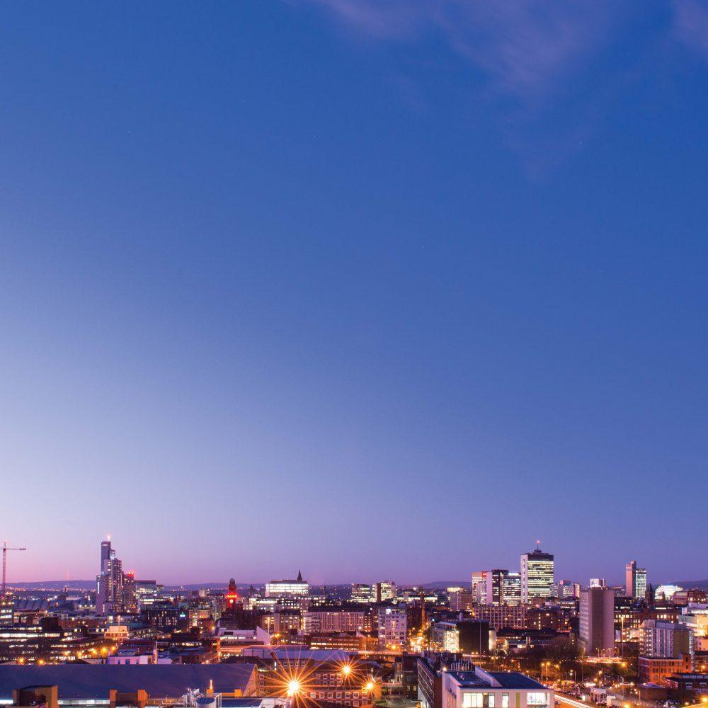 Manchester Skyline 2BLUE SM