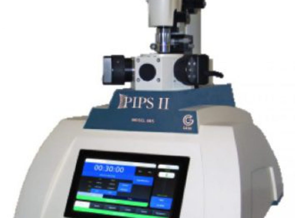 Precision Ion Milling System