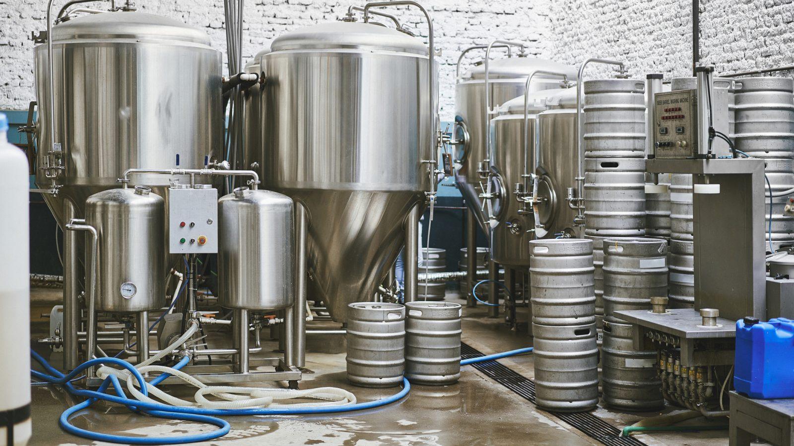 Buenos Aires Craft Beer Brewery Interior