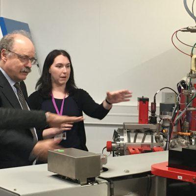 Sir Mark Walport views NanoSIMS