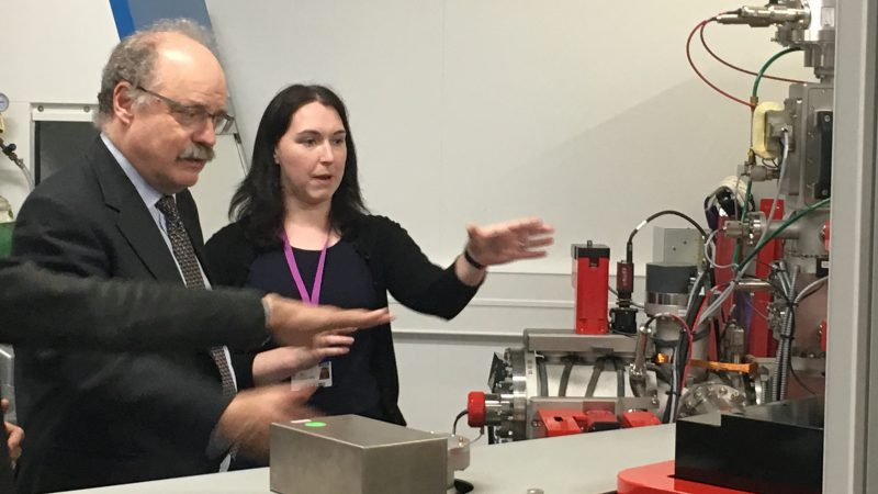 Sir Mark Walport views NanoSIMS